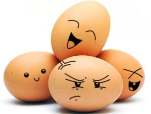 I can't get enough of eggs, even the grumpy ones. (image from chelseacrockett.com)